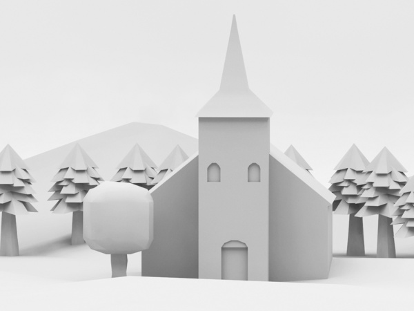 the lonely church