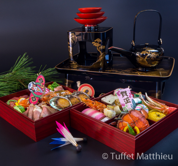"Japanese New years dishes ""Osechi"""