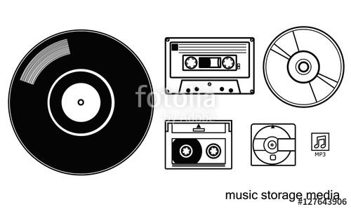 music media storages